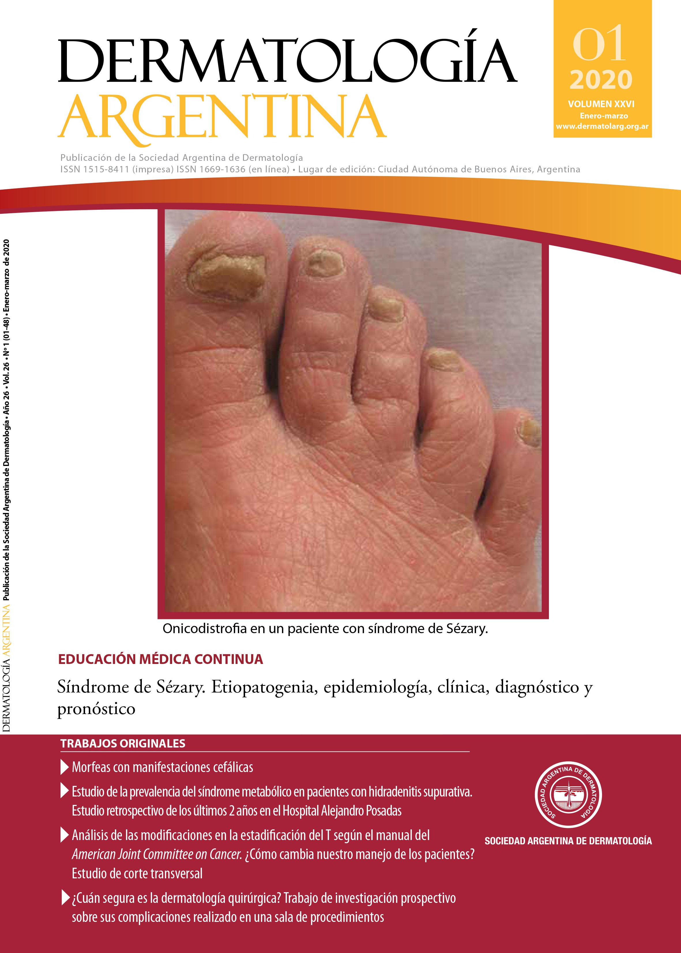 Revista Dermatología Argentina Nº 1 de 2020
